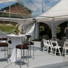 Tent event portable dance flooring