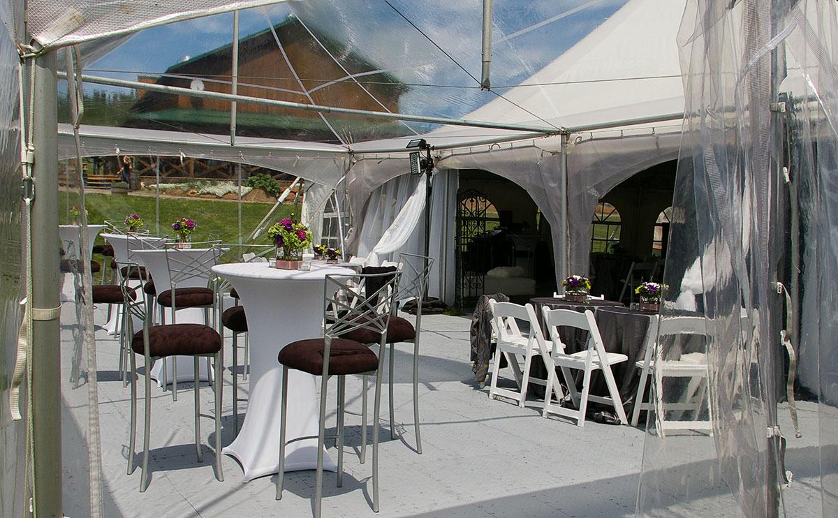 FastDeck® used for tent event flooring & Event Flooring | Portable Tent Floors - SnapLock Dance Floors