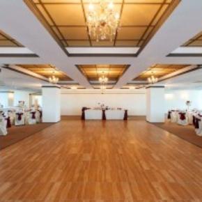 Maple portable dance floor wedding