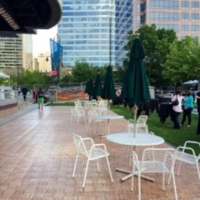 oak outdoor portable flooring in city