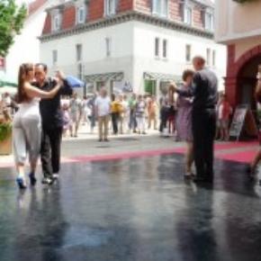 Slate black style ballroom dancing portable dance floors