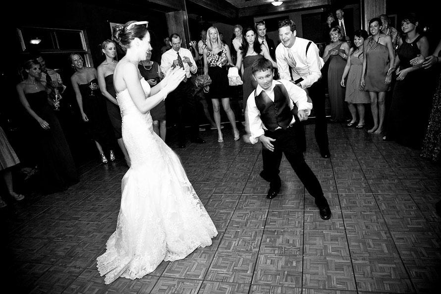 Teak dance floor at wedding and portable flooring for dancing